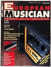 EUROPEAN MUSICIAN MAGGIO 1994