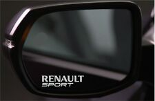 4x SPECCHIETTO RETROVISORE adesivi per Renault Sport GRAFICHE ottima qualità