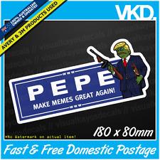 Pepe Trump Sticker/ Decal - Car Dab Funny Meme Spongebob Vinyl Dabbing Squidward
