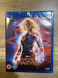 Captain Marvel  (2019) NEW SEALED BLU RAY