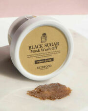 [SKINFOOD] Black Sugar Mask Wash Off Exfoliator Scrub (100g) Korean Cosmetics