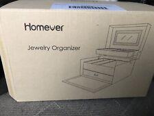 Homever Jewellery Organizer Black  Brand New In Box