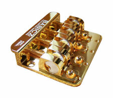 Babicz Full Contact Hardware FCH 4-String Bass Bridge - Available in Gold Finish