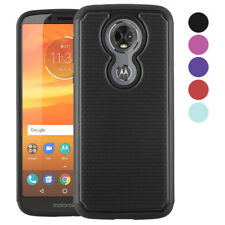 For Motorola Moto E5 Plus Case [Dual Layer] Shock Absorbing Case Cover