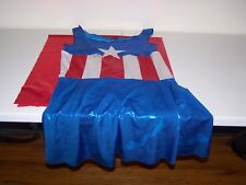 A158 Brooke Tessmacher signed Supergirl Costume w/COA   **Please Read **WCW