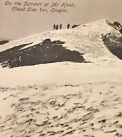 Postcard, Mt. Hood On The Summit Cloud Cap Inn Oregon Vintage P12