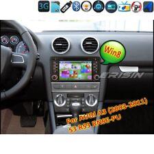 DAB+ Audi A3 Autoradio S3 RS3 RNSE-PU Bluetooth Car DVD GPS MP3 WIN8 DVB-T 7147I