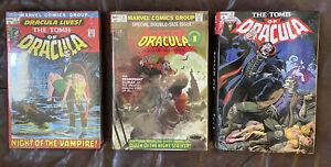 TOMB OF DRACULA Omnibus Vol 1 2 3 Complete Set NEW SEALED SEE DESC OOP Hardcover