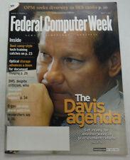 Federal Computer Week Magazine The Davis Agenda April 2003 071515R