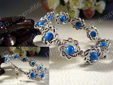 New Fashion jewelry Tibet Tibetan silver bracelet ladies Lucky beads bangle