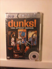 Dunks! NBA Street Series Volume 1 Brand NEW Mini Size Disc DVD Hosted by DJ CLUE