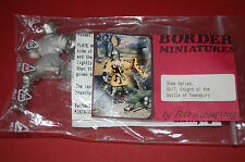 Border Miniatures 80/7 - Knight of The Battle of Tewksbury  Scala 80mm