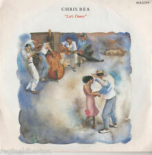 """Chris Rea - Let's Dance 7"""" Single 1987"""
