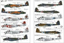 Xtradecal 1/72 X72071  Gloster Meteor F8 in Foreign Service decal set