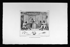 Debret Brazil Print - Shoemaker Shop Cordonnier Slave Punishment - Shoes Leather