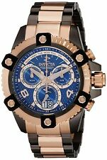 Swiss Made Invicta 13679 Reserve Arsenal Rose Gold-Tone Chronograph Mens Watch