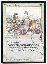 MTG Rarity - Tundra Wolves *Signed By Illustrator Quinton Hoover* Legends (SCG)