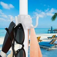 Portable  Beach Umbrella Plastic Hanging Hooks 4 Prongs for Beach Camping Trips