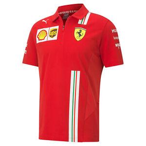 Scuderia Ferrari Formel 1 Polo Shirt Racing SF Team Motorsport von Puma 20/21