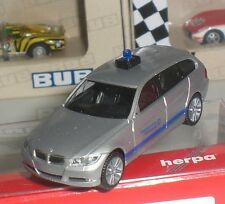 HERPA 048064 VOITURE BMW 3er TOURING THW LV BERLIN EMERGENCY 1:87 HO NEUF OVP