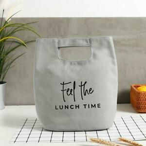 Insulated Heat Lunch Bags Thermal Picnic Bento Box Thermo Pouch Fresh Food Store