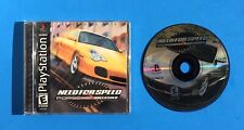 NEED FOR SPEED: PORSCHE UNLEASHED Playstation 1 PS1 COMPLETE Game BLACK Label