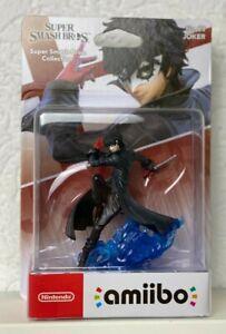 Joker Amiibo Figur No. 83 - Super Smash Bros. Nintendo WIIU Switch 3DS Neu OVP