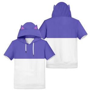 The Owl House TOH Luz Cosplay 3D Printed Print T-shirt Hoodie Shirt