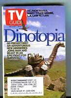TV Guide Magazine May 11-17 2002 Dinotopia EX w/ML 121516jhe