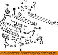 HONDA OEM 93-97 Civic del Sol-Bumper Trim-Reflector 33805SR2A01