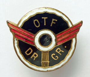 Transport Workers Labour Union Oslo Norway Taxi group Abzeichen pin badge