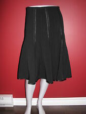 DALIA Collection Women's Black A-Line Skirt - Size 8 - NWT