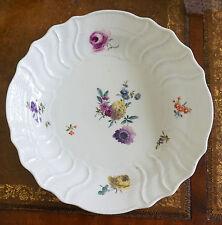 18th Century Antique Meissen Porcelain Deep Plate or Platter