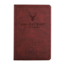 New Deer Pattern PU Leather Smart Cover Case For Apple Ipad Mini/Mini2/Mini3-Red