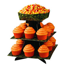 Halloween Cupcake and Treat Stand with Bowl from Wilton #0702 - NEW