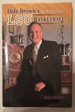 SIGNED LSU Coach Dale Brown's Memoirs Basketball 2004 HCDJ Tigers Baton Rouge LA
