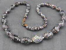 schöne antike Glasperlenkette Murano