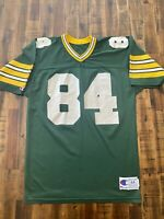 Vintage Champion Athletic  Green Bay Packers Jersey #84 Sharpe Schroeder