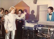 CLAUDE FRANçOIS PATRICK PREJEAN  DROLE DE ZEBRE 1977 VINTAGE PHOTO ORIGINAL