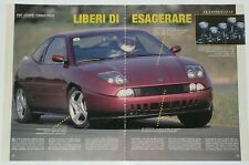Article Articolo 1996 FIAT COUPE' 2.0 20V TURBO