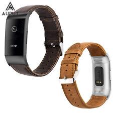 Genuine Leder Ersatz Uhrenarmband Armband Band Strap für Fitbit Charge 2/3/3 SE