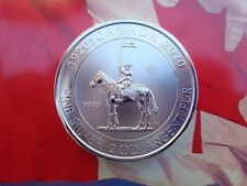 2020 Royal Canadian Mounted Police 100th ann. 2 oz. BU coin .9999 fine silver