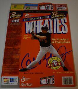 Original 1999 Wheaties CAL RIPKEN JR 2131 75 YRS OF CHAMPIONS Cereal Box (Flat)