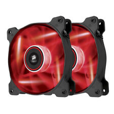 Corsair CO-9050016-RLED LED Red Quiet Edition 120mm PC Computer Fan Twin Pack