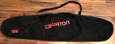 Burton 166 Snowboard Bag Black With Shoulder Strap