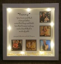 Mum Christmas gift, personalised nanny heart of gold quote, gifts for her,