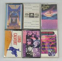 Lot of 6 Cassette Tapes Country Best Hits 80's Greatest Hits