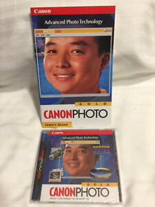 NEW SEALED Canon Photo Gold CD Photo Editing Software Windows 95 98 & NT