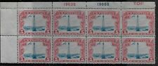 US Scott #C11, Plate Block #19635/19668 1928 Air Mail 5c FVF MH