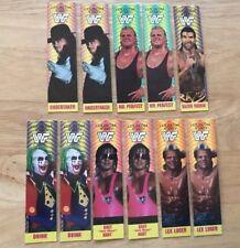 Lot Of 11 WWF COLISEUM WRESTLING BOOK MARKS LEX LUGER BRET HART UNDERTAKER 1993